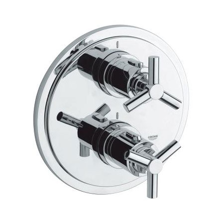 Atrio Thermostat With Integrated 2 Way Diverter For Bath