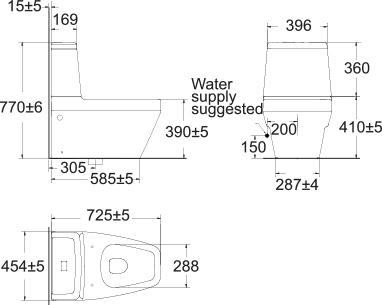 Ids Clear Close Coupled Tf 2230 Wasser Werkz Pa